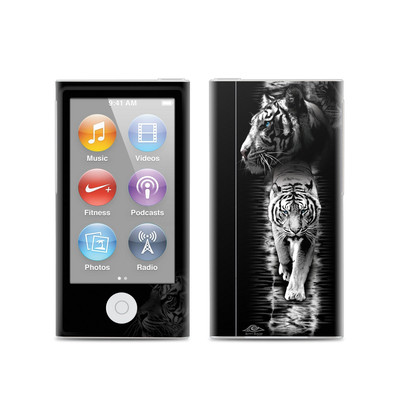 Apple iPod Nano (7G) Skin - White Tiger