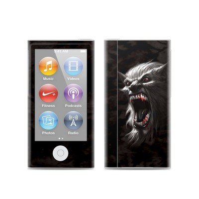 Apple iPod Nano (7G) Skin - Wolfman