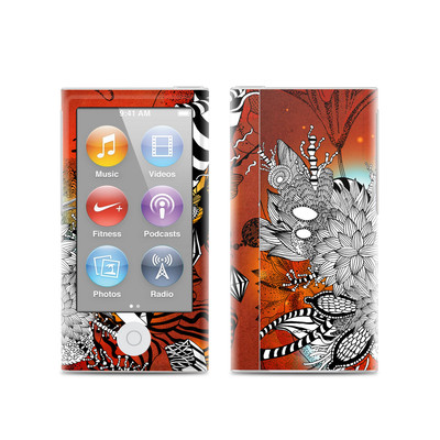Apple iPod Nano (7G) Skin - Wild Lilly