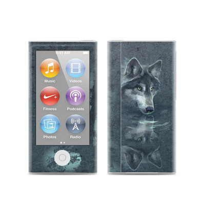 Apple iPod Nano (7G) Skin - Wolf Reflection