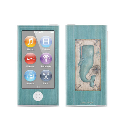 Apple iPod Nano (7G) Skin - Whale Watch