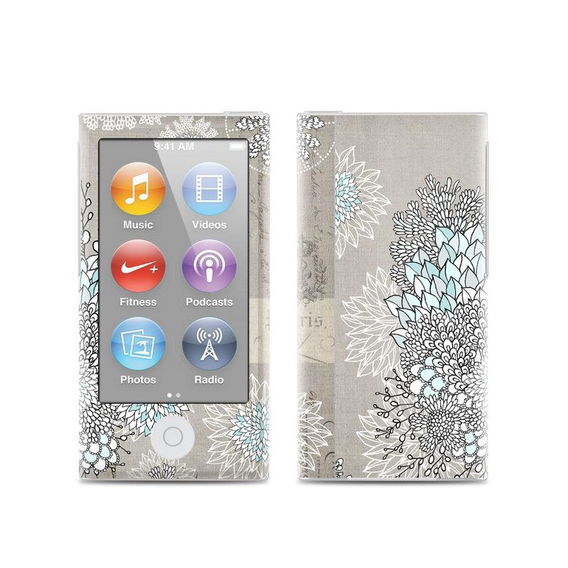 apple ipod nano 7g skin christmas in paris by iveta. Black Bedroom Furniture Sets. Home Design Ideas