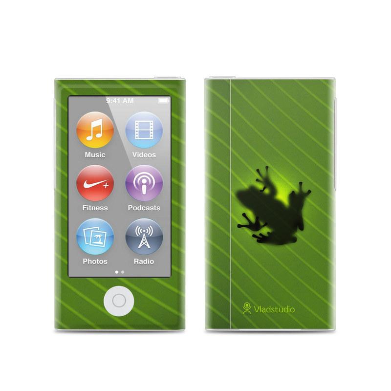 apple ipod nano 7g skin frog by vlad studio decalgirl. Black Bedroom Furniture Sets. Home Design Ideas