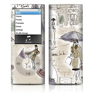 iPod nano (4G) Skin - Ah Paris