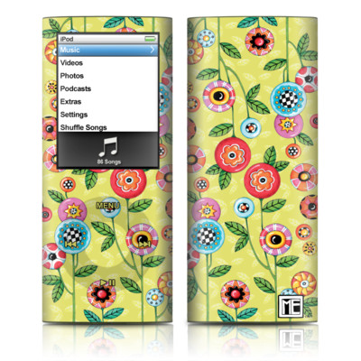 iPod nano (4G) Skin - Button Flowers