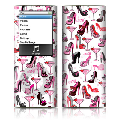 iPod nano (4G) Skin - Burly Q Shoes