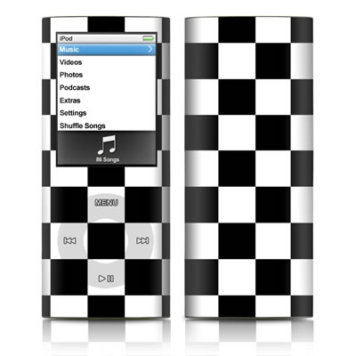 iPod nano (4G) Skin - Checkers