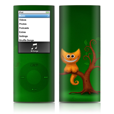 iPod nano (4G) Skin - Cheshire Kitten