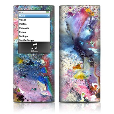 iPod nano (4G) Skin - Cosmic Flower