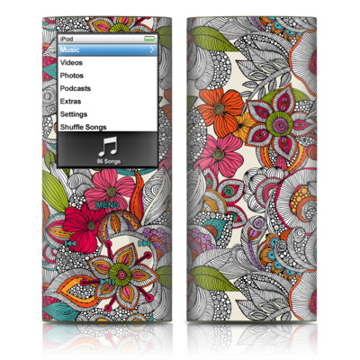 iPod nano (4G) Skin - Doodles Color