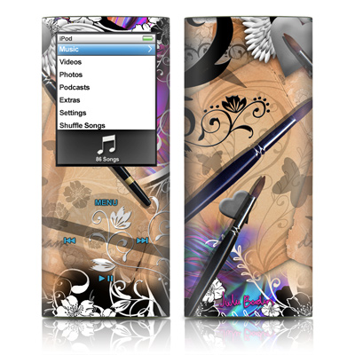 iPod nano (4G) Skin - Dream Flowers