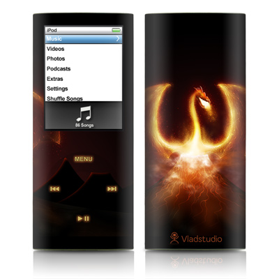 iPod nano (4G) Skin - Fire Dragon