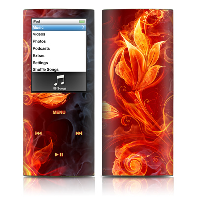 iPod nano (4G) Skin - Flower Of Fire