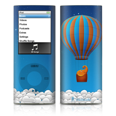 iPod nano (4G) Skin - Flying Elephant