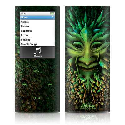 iPod nano (4G) Skin - Greenman