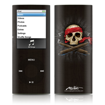 iPod nano (4G) Skin - High Seas Drifter