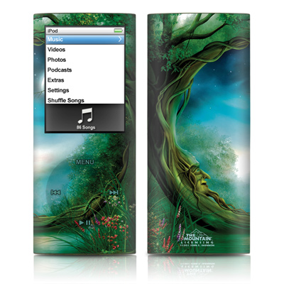 iPod nano (4G) Skin - Moon Tree