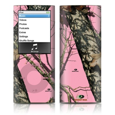 iPod nano (4G) Skin - Break-Up Pink