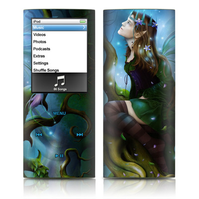 iPod nano (4G) Skin - Nightshade Fairy