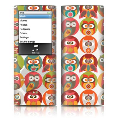 iPod nano (4G) Skin - Owls Family