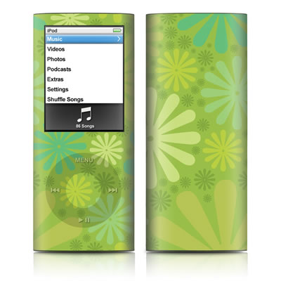 iPod nano (4G) Skin - Lime Punch