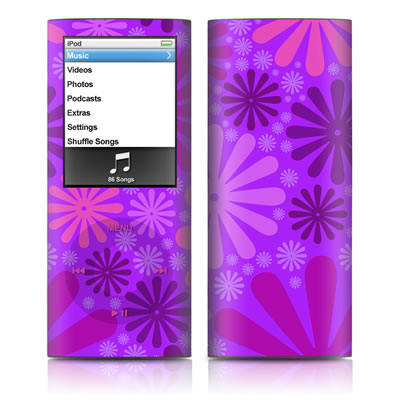 iPod nano (4G) Skin - Purple Punch
