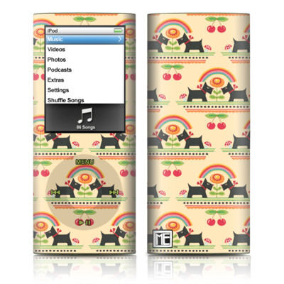 iPod nano (4G) Skin - Scotties