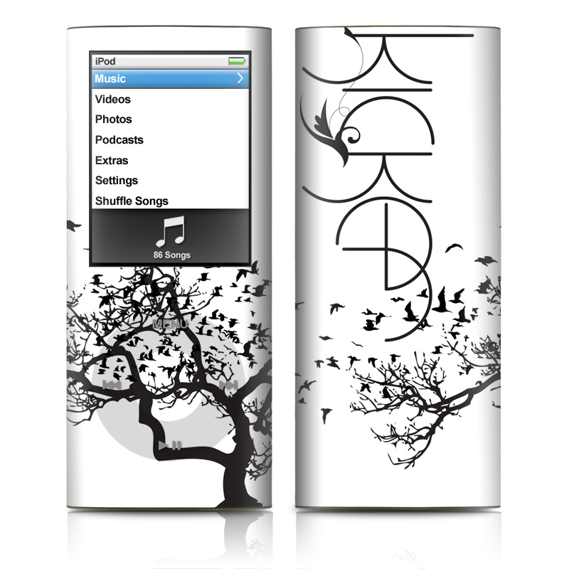 i phone apply ipod nano 4g skin kicker birds by kicker decalgirl 22617