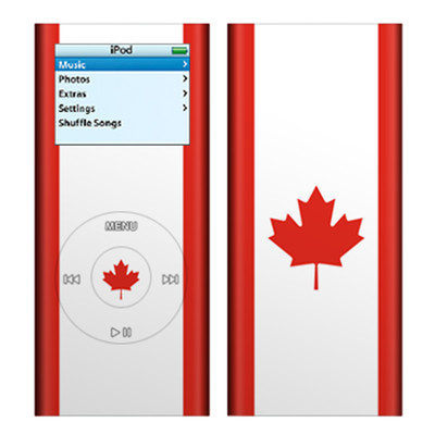 iPod nano (2G) Skin - Canadian Flag