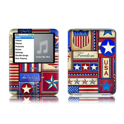 iPod nano (2G) Skin - Flag Patchwork