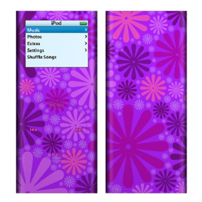 iPod nano (2G) Skin - Purple Punch