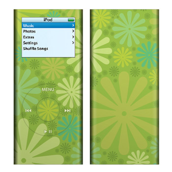 iPod nano (2G) Skin - Lime Punch