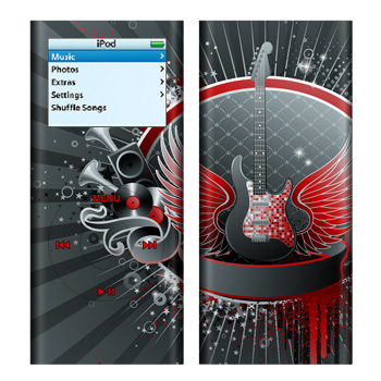 iPod nano (2G) Skin - Rock Out
