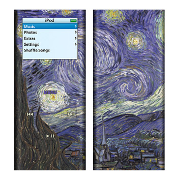 iPod nano (2G) Skin - Starry Night