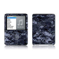 iPod nano (3G) Skin - Digital Navy Camo