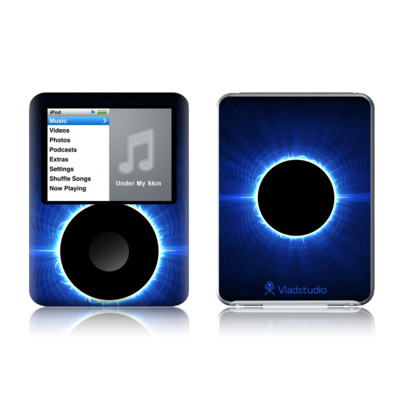iPod nano (3G) Skin - Blue Star Eclipse