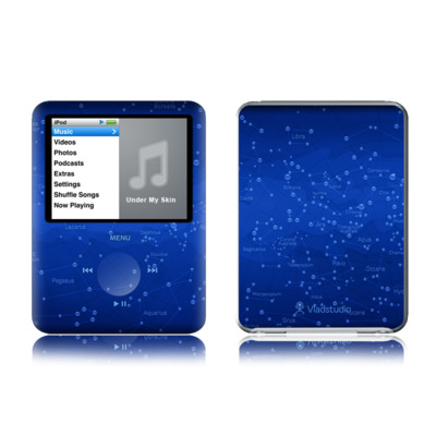 iPod nano (3G) Skin - Constellations