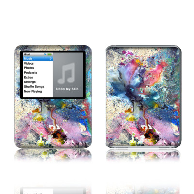 iPod nano (3G) Skin - Cosmic Flower