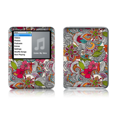 iPod nano (3G) Skin - Doodles Color