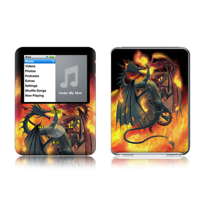 iPod nano (3G) Skin - Dragon Wars