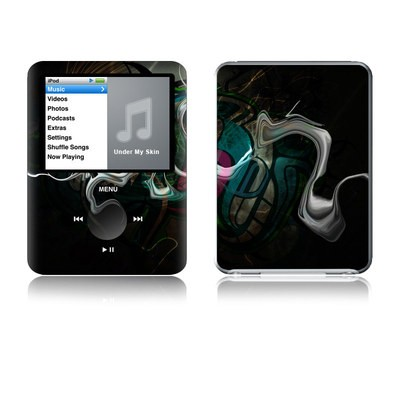 iPod nano (3G) Skin - Graffstract