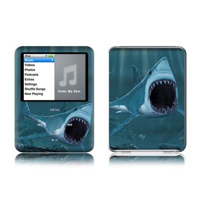 iPod nano (3G) Skin - Great White