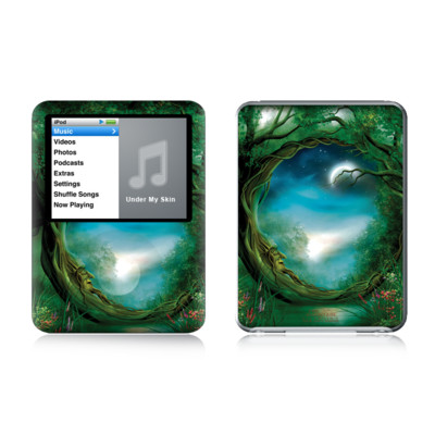 iPod nano (3G) Skin - Moon Tree