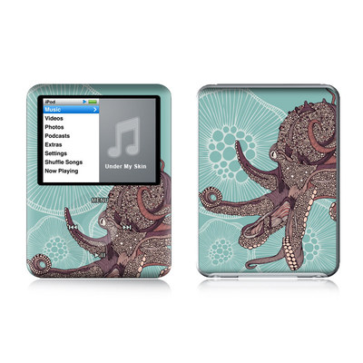iPod nano (3G) Skin - Octopus Bloom