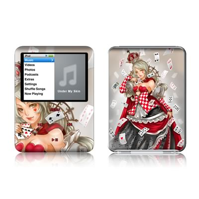 iPod nano (3G) Skin - Queen Of Cards