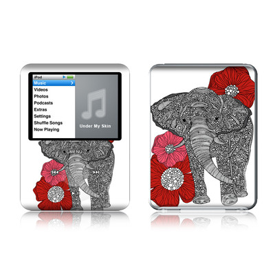 iPod nano (3G) Skin - The Elephant