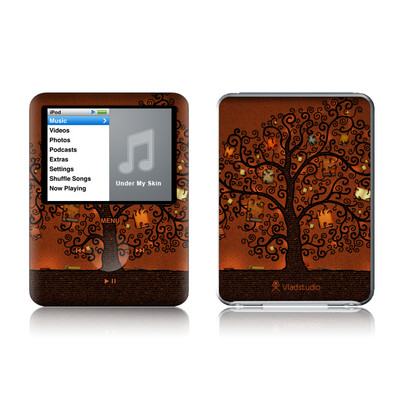 iPod nano (3G) Skin - Tree Of Books