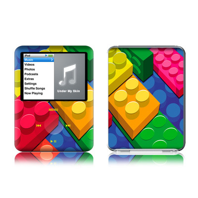 iPod nano (3G) Skin - Bricks