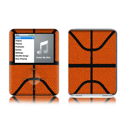 iPod nano (3G) Skin - Basketball