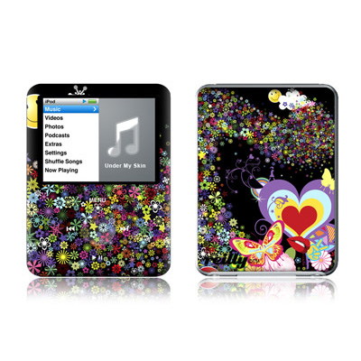 iPod nano (3G) Skin - Flower Cloud